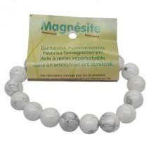 magnésite bracelet grandes boules