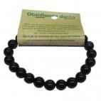 obsidienne dorée bracelet moyennes boules