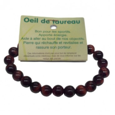 oeil de taureau bracelet moyennes boules