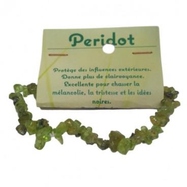 péridot bracelet baroque
