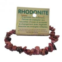 rhodonite bracelet baroque