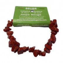 jaspe rouge bracelet baroque (bélier)