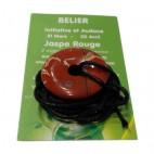 jaspe rouge donut (bélier)