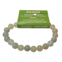 jade bracelet moyennes boules (balance)
