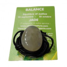 jade galet percé (balance)