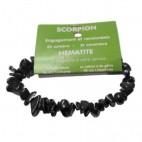 hématite bracelet baroque (scorpion)
