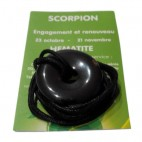 hématite donut (scorpion)