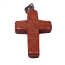 jaspe rouge croix montée