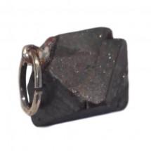 magnétite pierre brute montée