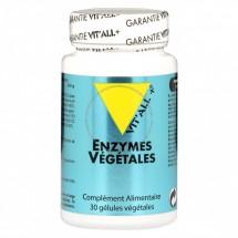 ENZYMES VEGETALES 30 gélules végétales