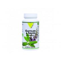 GATTILIER & SAUGE BIO 120 gélules végétales