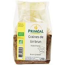 Graines de lin brun bio de Primeal 250gr