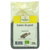 Graines de pavot bleu bio 250 gr