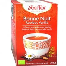 BONNE NUIT - Rooibos Vanille Bio, 17 sachets