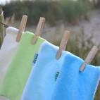 Gant démaquillant en fibre de bambou - peaux normales à acnéiques