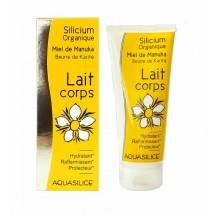 Lait corps - silicium organique, miel de manuka, beurre de karité 200ml