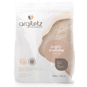 Argile blanche - peaux ternes 200g