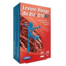 Levure rouge de riz bio + coenzyme Q10H2 - 2 en 1 - 30 + 30 gélules