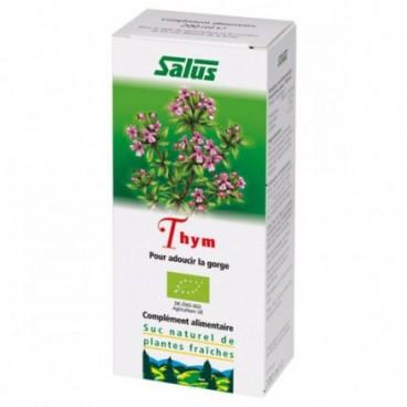 Thym - suc naturel de plante fraîche - pour adoucir la gorge 200ml