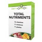 Total nutriments - 6 fruits & légumes - 30 comprimés