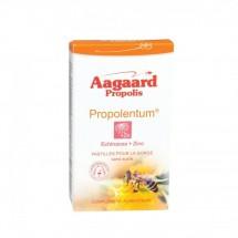 Propolentum - échinacée + zinc - pastilles pour la gorge sans sucres - 30 pastilles