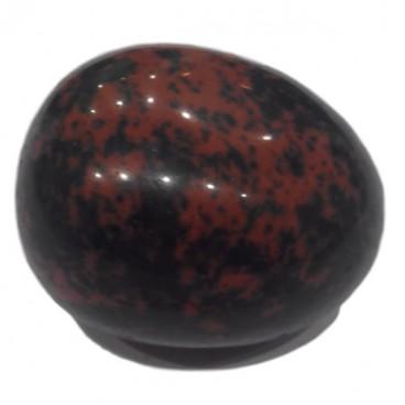obsidienne mahagony galet