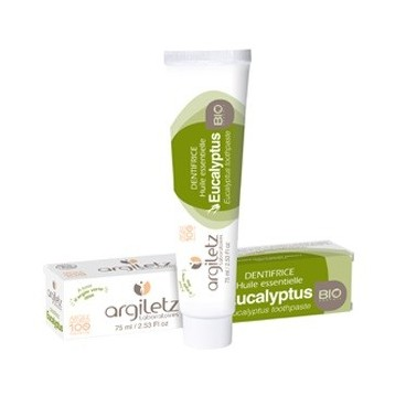 Dentifrice - huile essentielle d'eucalyptus 75ml