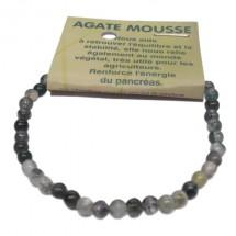 agate mousse bracelet très petites boules