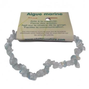 aigue marine bracelet baroque