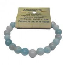 amazonite bracelet grandes boules