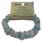 amazonite bracelet fantaisie grandes lamelles