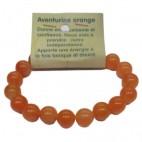aventurine orange bracelet grandes boules