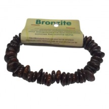 bronzite grand bracelet baroque