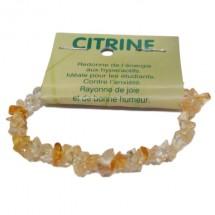 citrine bracelet baroque
