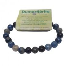 dumortiérite bracelet moyennes boules