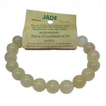 jade bracelet grandes boules