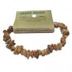 jaspe beige bracelet baroque