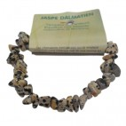 jaspe dalmatien bracelet baroque
