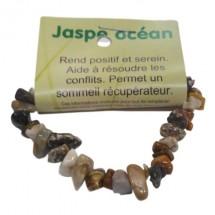 jaspe océan bracelet baroque