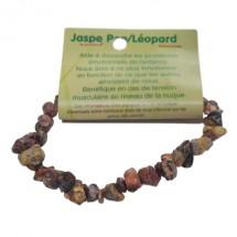 jaspe pop/léopard bracelet baroque