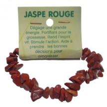 jaspe rouge bracelet baroque