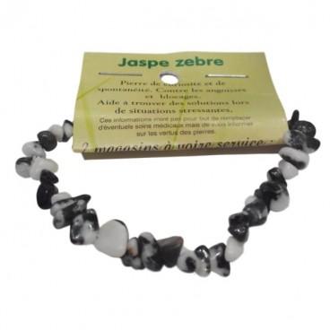 jaspe zébré bracelet baroque