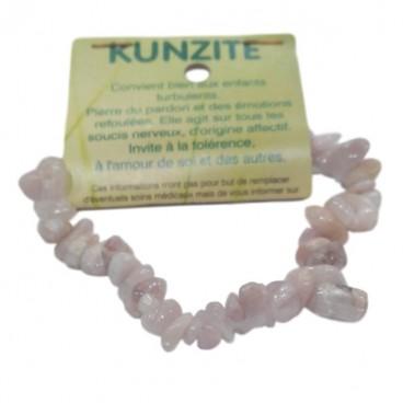 kunzite bracelet baroque