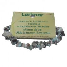 larimar bracelet baroque